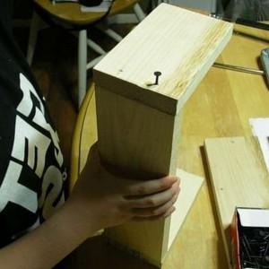 как сделать ящик из дерева