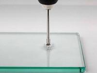 как просверлить дырку в стекле