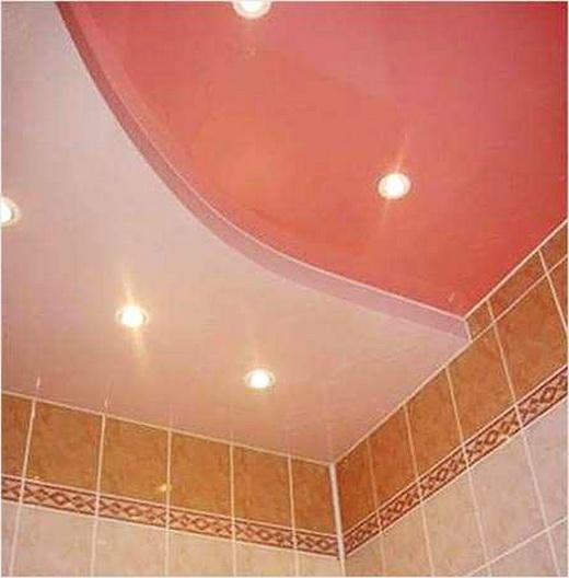 какой выбрать потолок в туалет