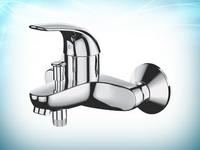 монтаж смесителя в ванной комнате видео