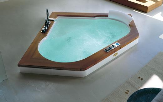 Стальные гидромассажные ванны