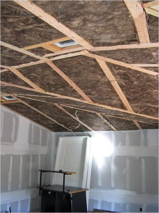 шумоизоляция потолка в доме