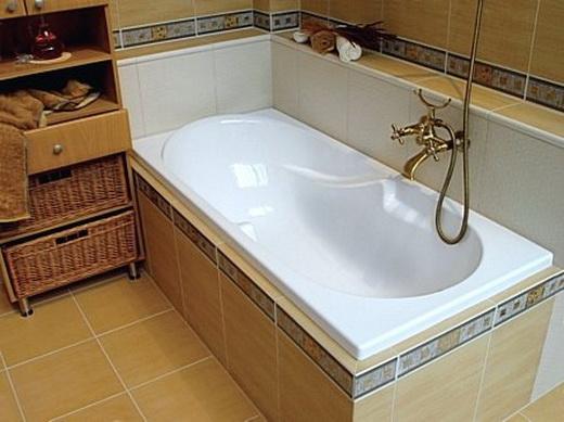 самостоятельная установка акриловой ванны