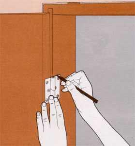 технология монтажа дверей