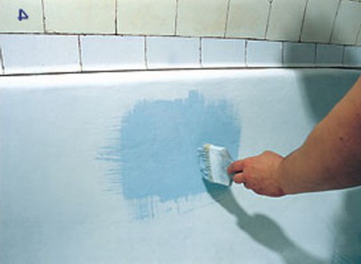 Как восстановить скол эмали в ванной своими руками