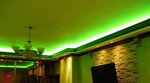 светодиодная потолочная подсветка