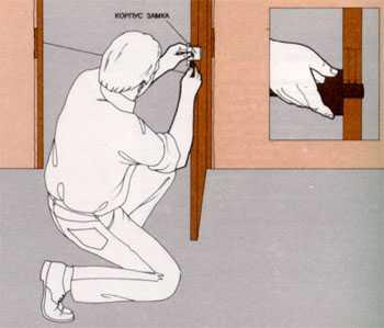 как правильно установить дверь видео