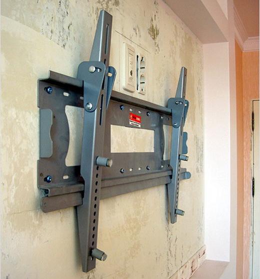Прикрепить телевизор на стену