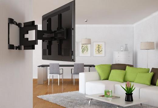 Как правильно подвесить телевизор на стену