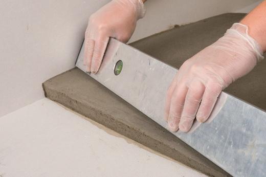 Как сделать пол ровным цементной смесью