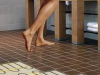 Утепление пола в ванной комнате