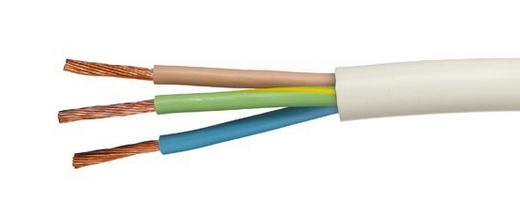 Подключение проводов с тремя жилами. Порядок цветов