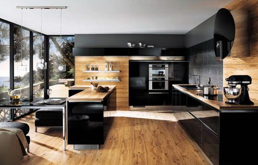 Кухня из ламината