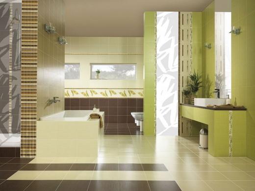 Укладка плитки в ванную комнату