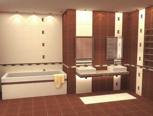 Как выбрать хорошую плитку в ванную