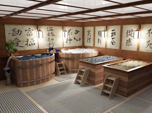 японская ванная офуро