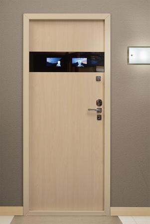 входные двери в квартиру с видеонаблюдением