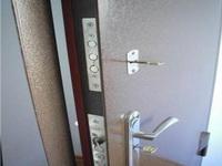 утепление железной входной двери