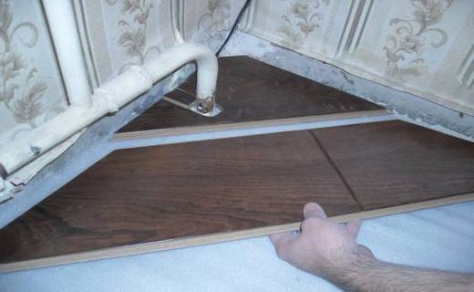 Как начать укладывать ламинат поперек комнаты
