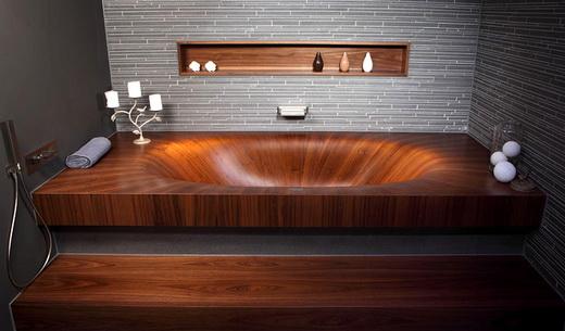 Преимущества деревянной ванны