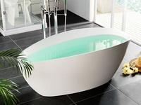 вместимость ванны в литрах