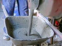 Количество цемента для получения фундамента