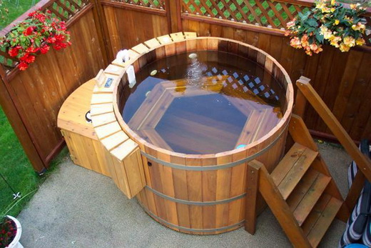 Японская ванна офуро