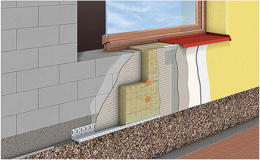 Лучшая теплоизоляция фасада