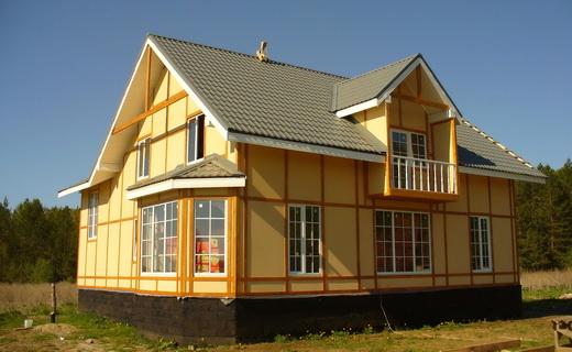 построить канадский дом