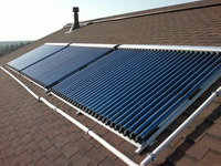 Солнечные коллекторы для отопления частного домика