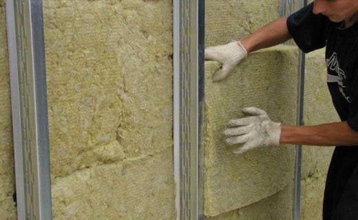 Теплоизоляция комнатных стен минеральной ватой