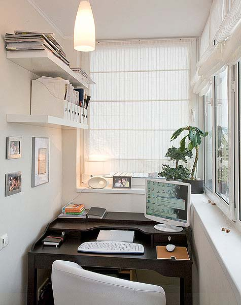 как украсить открытый балкон